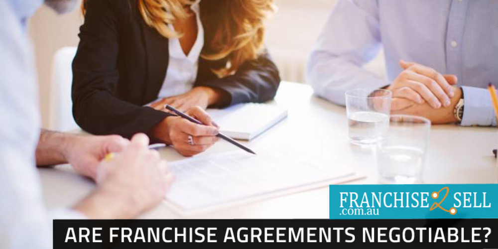Are Franchise Agreements Negotiable?